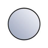 By-Boo Ronde Spiegel 'Selfie' 60cm, kleur Zwart