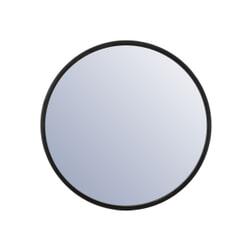 By-Boo Ronde Spiegel 'Selfie' kleur zwart