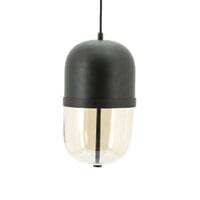By-Boo Hanglamp 'Maverick' Ø20cm, kleur Zwart