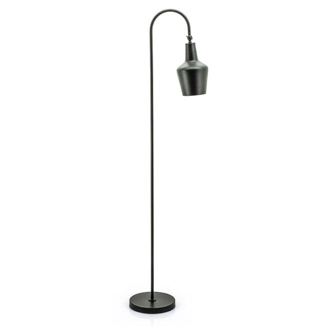 By-Boo Vloerlamp 'Zuko' 158cm hoog, kleur Zwart