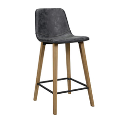 Barstoel 'Jalen' Wax / PU (zithoogte 70cm)