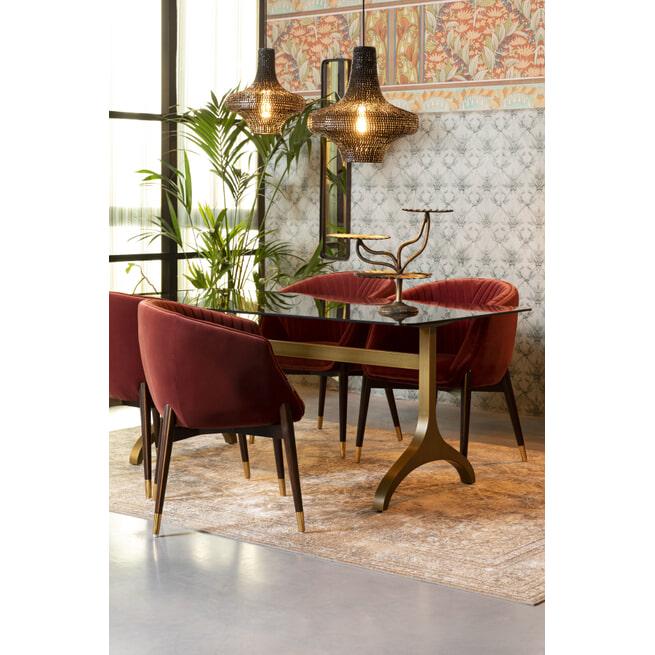 Dutchbone Eettafel 'Sansa', 180x90cm