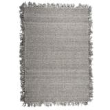 By-Boo Vloerkleed 'Woolie' 160 x 230cm, kleur Taupe