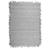 By-Boo Vloerkleed 'Woolie' 200 x 290cm, kleur Lichtgrijs