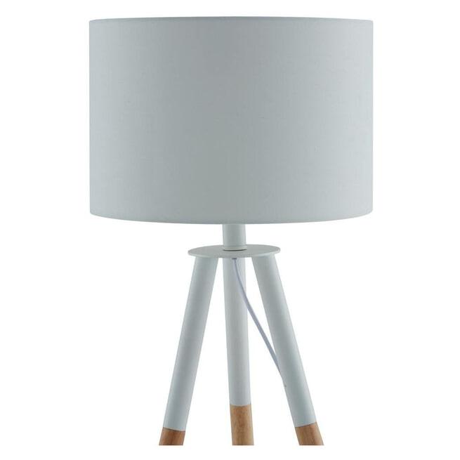 Artistiq Tafellamp 'Gerard', 55cm, kleur Wit