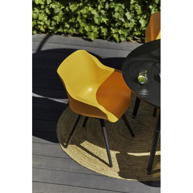 Hartman Tuinstoel 'Sophie Studio' met armleuning, kleur Oranje