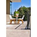 Hartman Outdoor Bistrotafel 110 x 70cm, inklapbaar, kleur Wit
