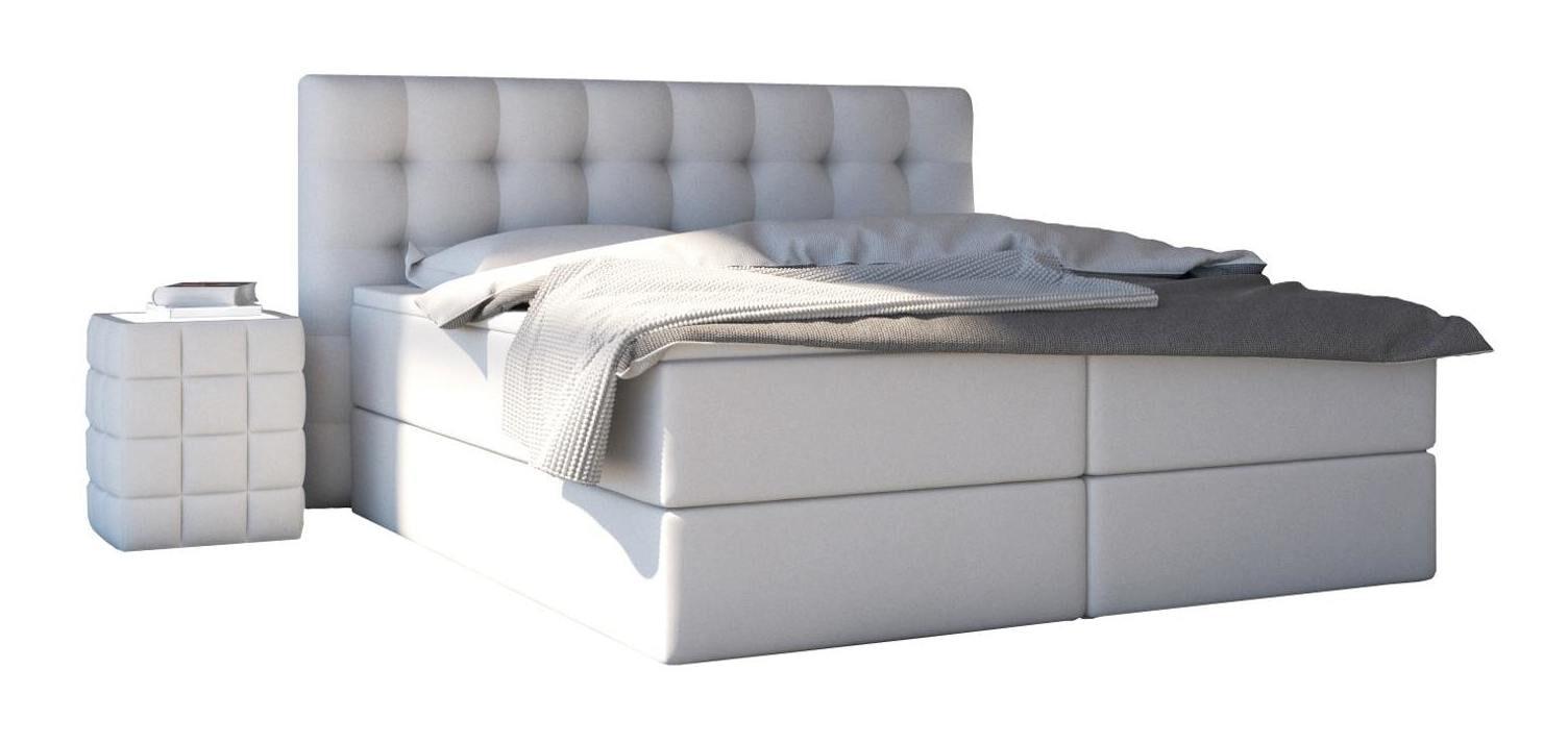 Artistiq Boxspring 'Penelope' 200 x 200cm, kleur Wit
