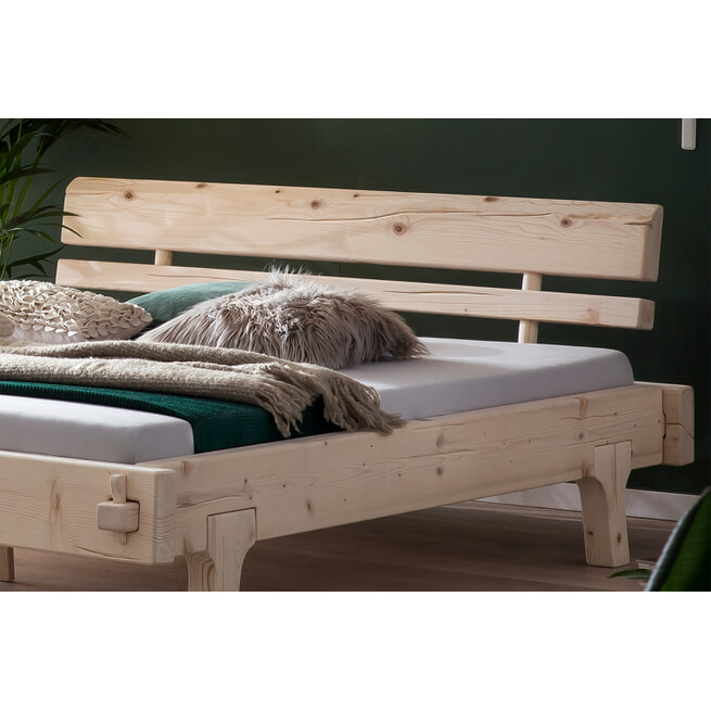 Artistiq Bed 'Kosa' kleur Naturel