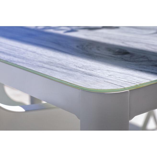Hartman Tuintafel 'Jill Rondo' 160 x 90cm, kleur Wit