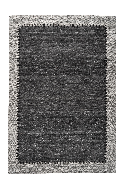 Kayoom Vloerkleed 'Phoenix 310' kleur Antraciet / Grijs, 80 x 150cm
