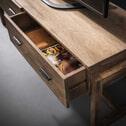 TV-meubel 'Theodore' Mangohout 135cm, met 2 laden