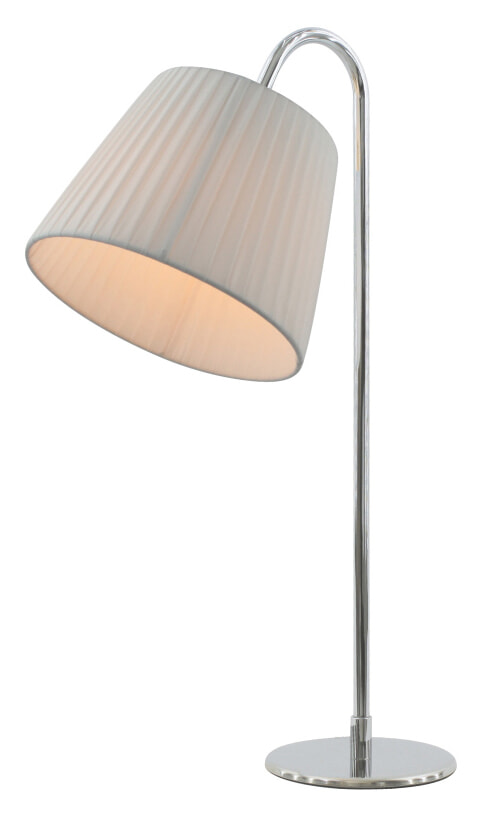 Artistiq Tafellamp 'Philippe', 54 cm, kleur Wit