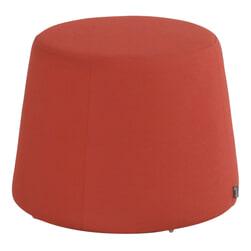 Hartman Outdoor Hocker 'Trapezium' kleur Rood