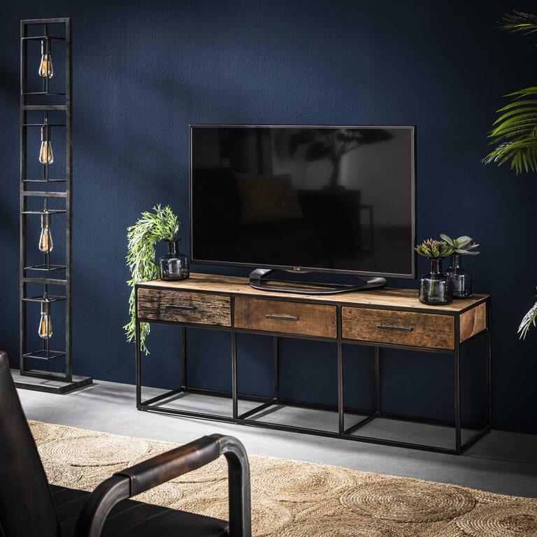 TV-meubel 'Tracy' met 3 laden, 135cm