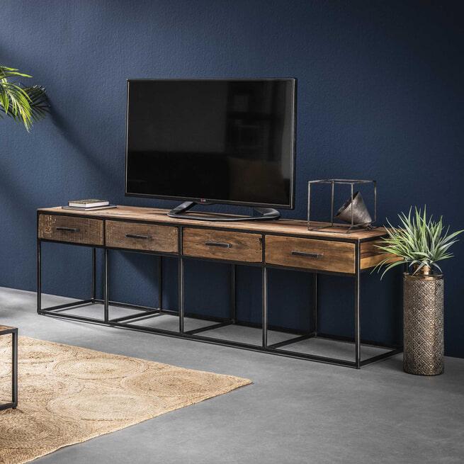 TV-meubel 'Tracy' met 4 laden, 180cm - 6