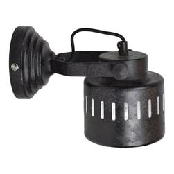 Urban Interiors wandlamp 'Vintage' Ø11,5cm, kleur Rough Black