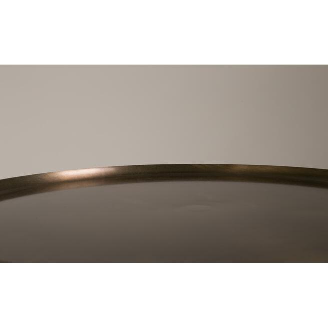 Dutchbone Bijzettafel 'Eliot' Antique Brass, 37cm