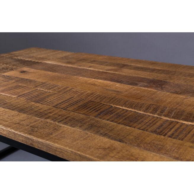 Dutchbone Salontafel 'Randi' Mangohout, 110 x 60cm