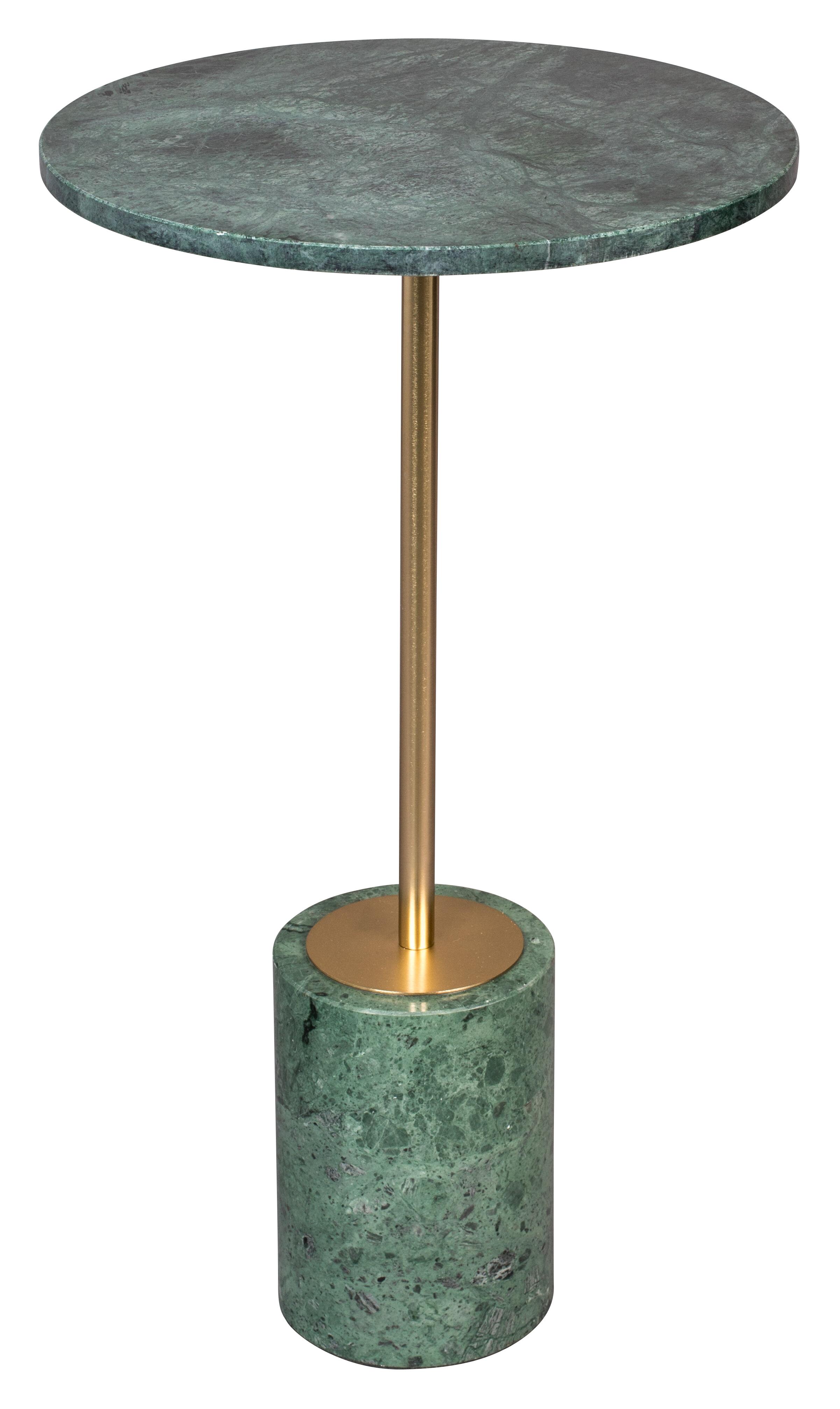 Dutchbone Bijzettafel 'Gunnar' Marmer, kleur Groen