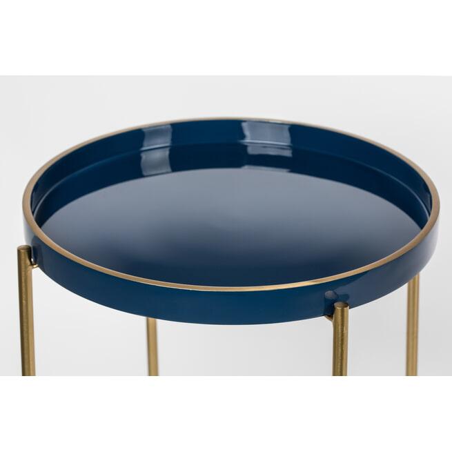 ZILT Bijzettafel 'Rie', 42x55cm, kleur Blauw