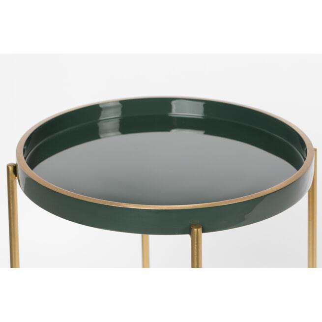 ZILT Bijzettafel 'Christoffer', 42x55cm, kleur Groen