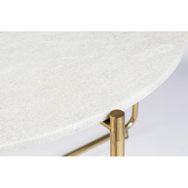 ZILT Salontafel 'Timpa' Marmer, 70cm