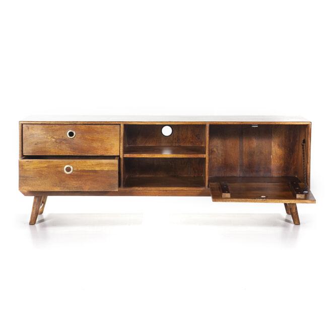 Eleonora TV-meubel 'Wisconsin' Mangohout, 150 cm