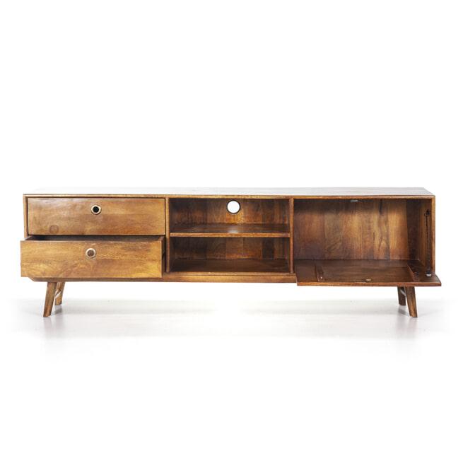 Eleonora TV-meubel 'Wisconsin' Mangohout, 180cm