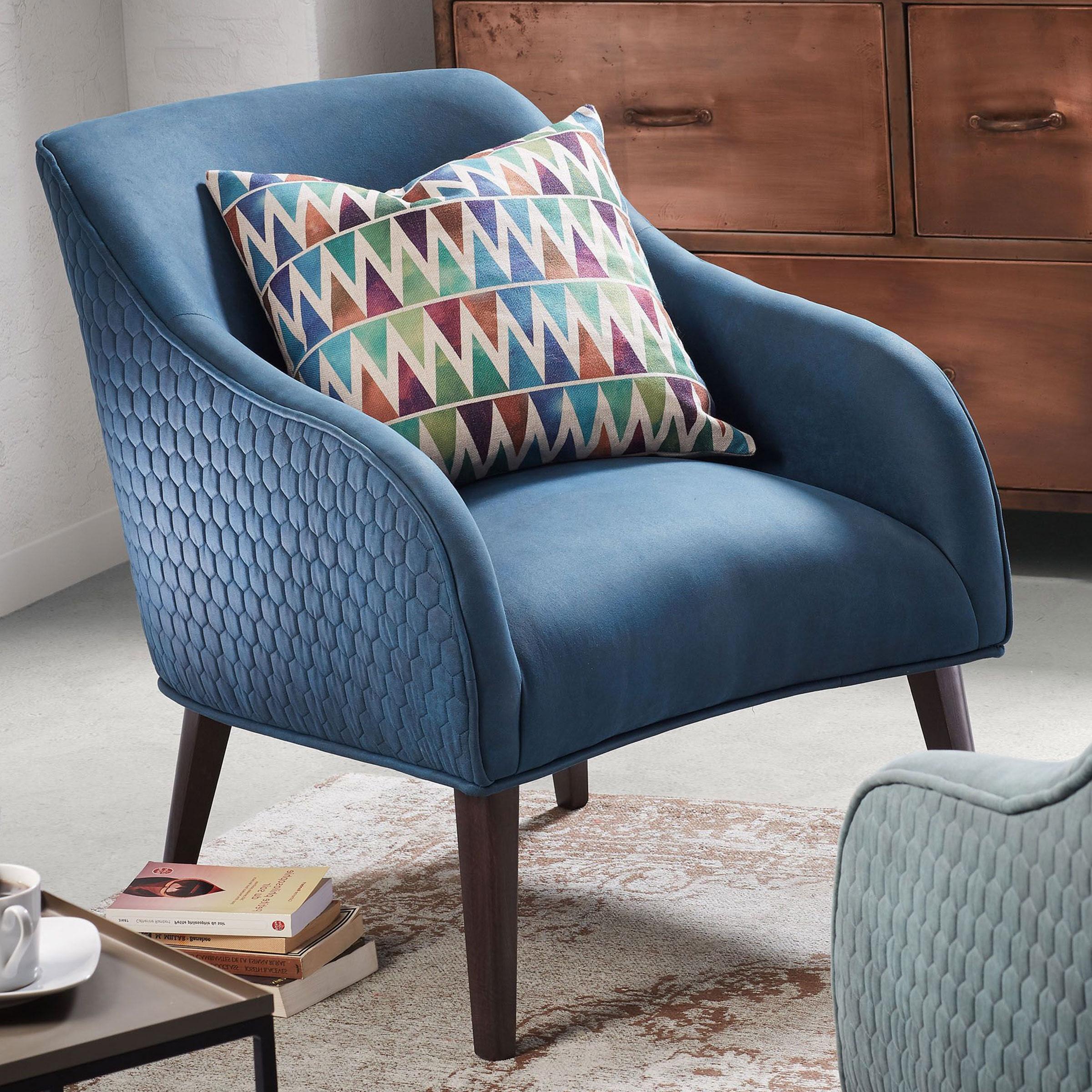 Kave Home fauteuil 'Bobly', kleur blauw