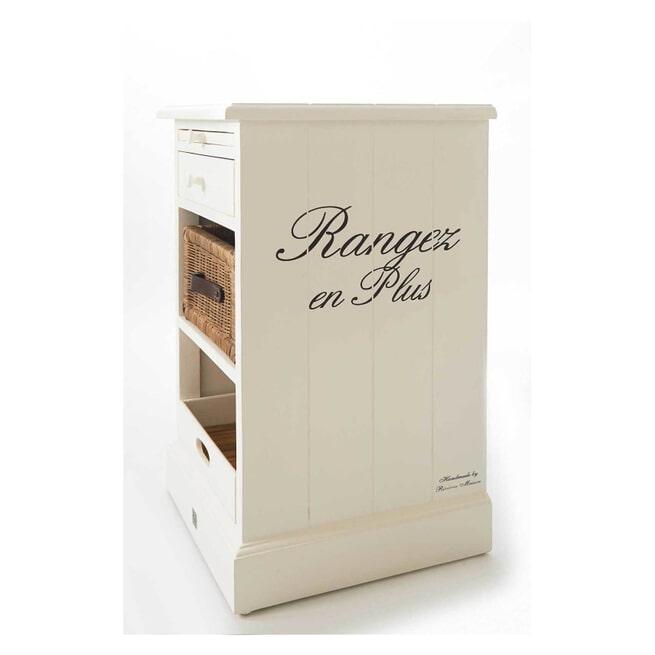 Rivièra Maison Nachtkastje 'Rangez en Plus'