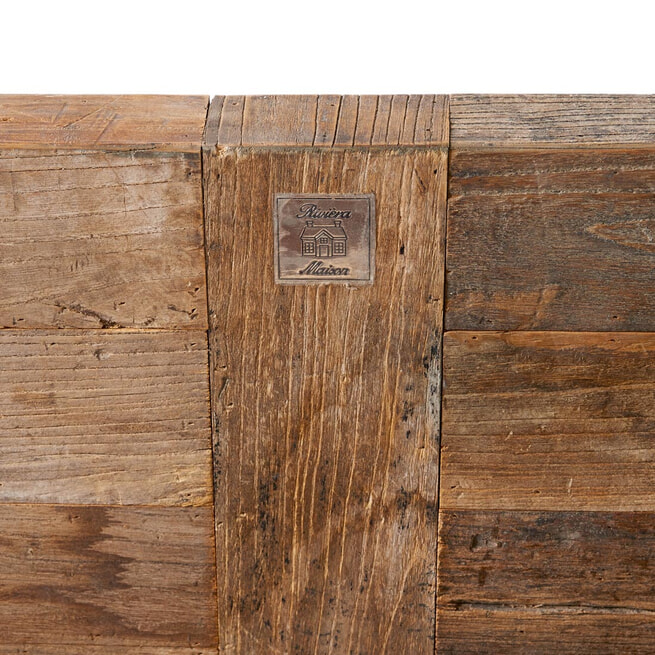 Rivièra Maison Bed 'Driftwood' 180 x 200cm