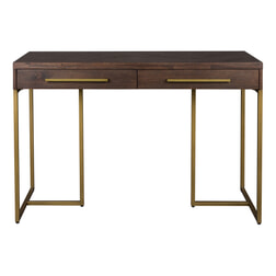 Dutchbone Sidetable 'Class' Antique Brass, 120cm