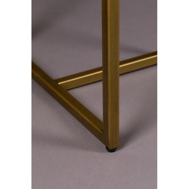 Dutchbone Sidetable 'Class' Antique Brass, 120cm