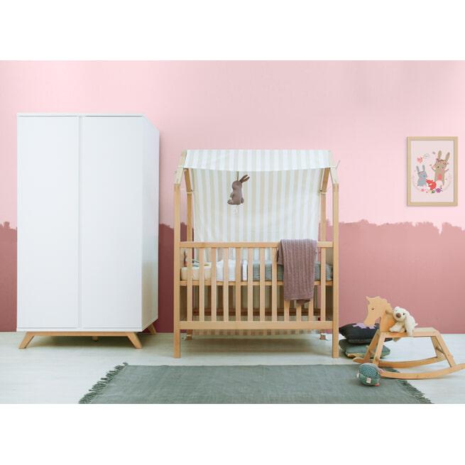 Bopita Bed 'My First House' 60 x 120cm, kleur naturel