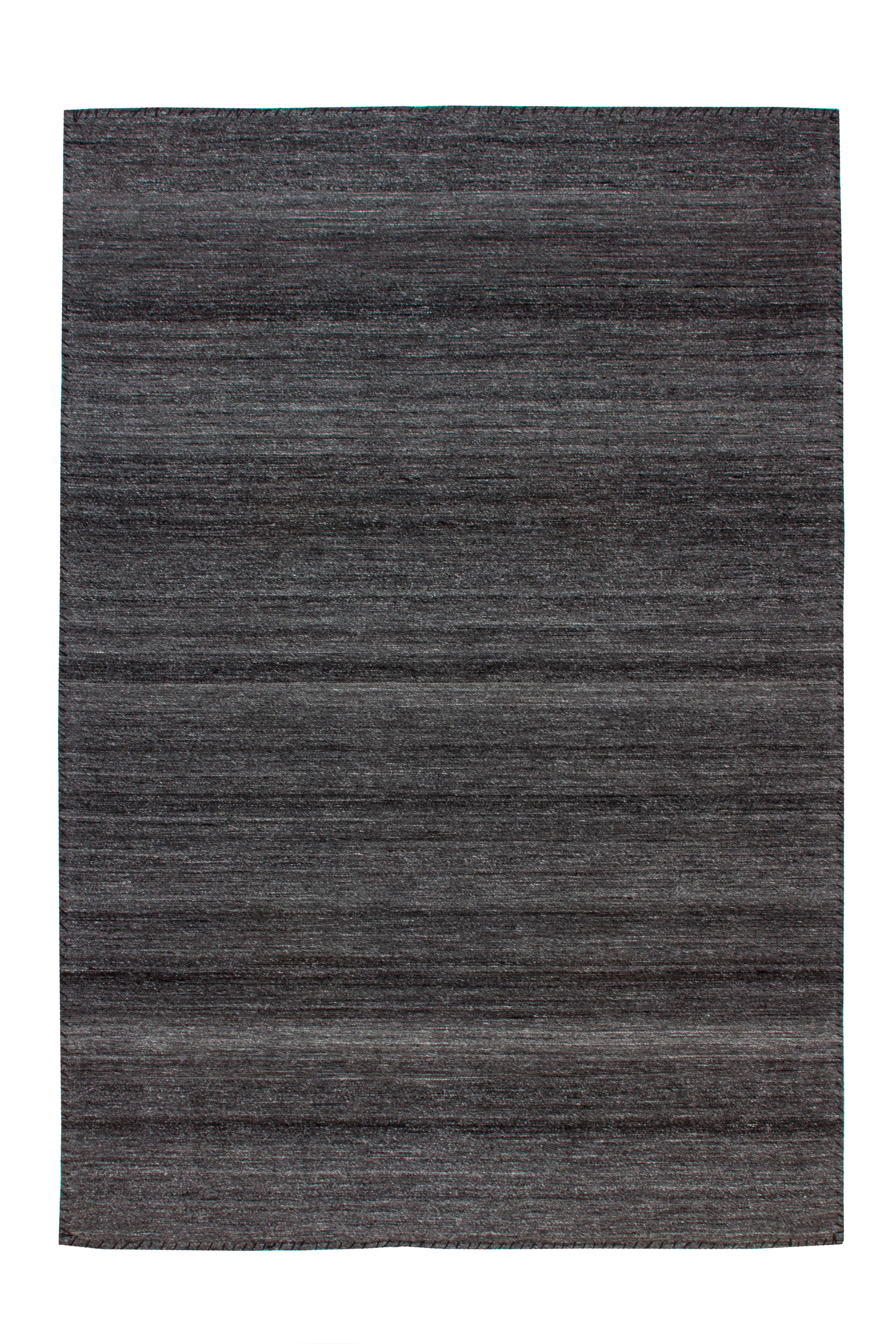 Kayoom Vloerkleed 'Phoenix 210' kleur Antraciet / Grijs, 80 x 150cm