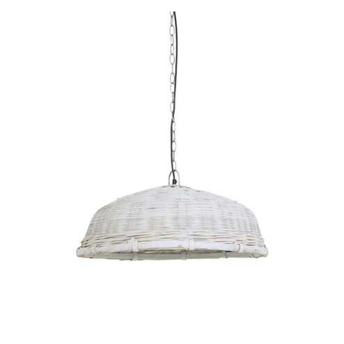 Light & Living Hanglamp 'Jaelynn', rotan grijs
