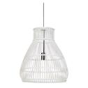 Light & Living Hanglamp 'Timaka' 46cm, rotan wit