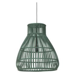 Light & Living Hanglamp 'Timaka' 46cm, rotan groen