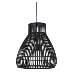 Light & Living Hanglamp 'Timaka' 46cm, rotan zwart
