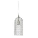 Light & Living Hanglamp 'Xana' 14cm, glas nikkel
