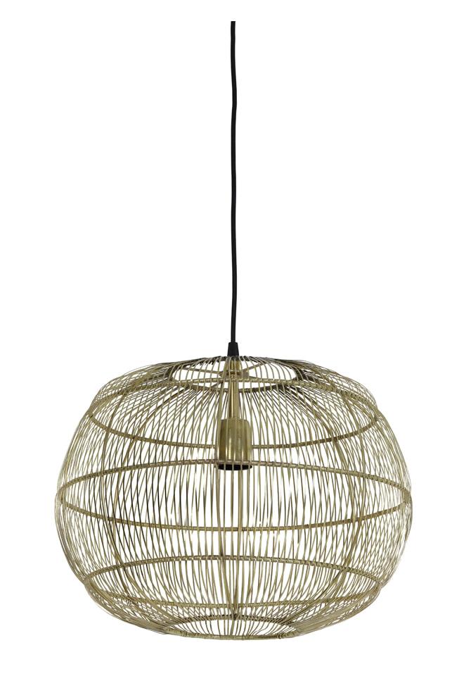 Light & Living Hanglamp 'Vedhira' 40.5cm, brons