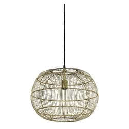 Light & Living Hanglamp 'Vedhira' 40.5cm, kleur Brons