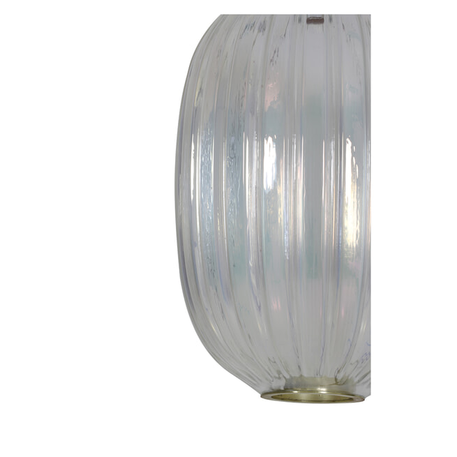 Light & Living Hanglamp 'Jenny' 32cm, glas transparant