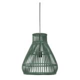 Light & Living Hanglamp 'Timaka' 37cm, rotan groen, kleur