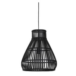Light & Living Hanglamp 'Timaka' 37cm, rotan zwart