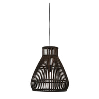 Light & Living Hanglamp 'Timaka' 37cm, rotan bruin