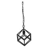 Light & Living Hanglamp 'Drizella' 26cm, mat zwart
