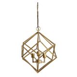 Light & Living Hanglamp 'Drizella' 3-Lamps, goud