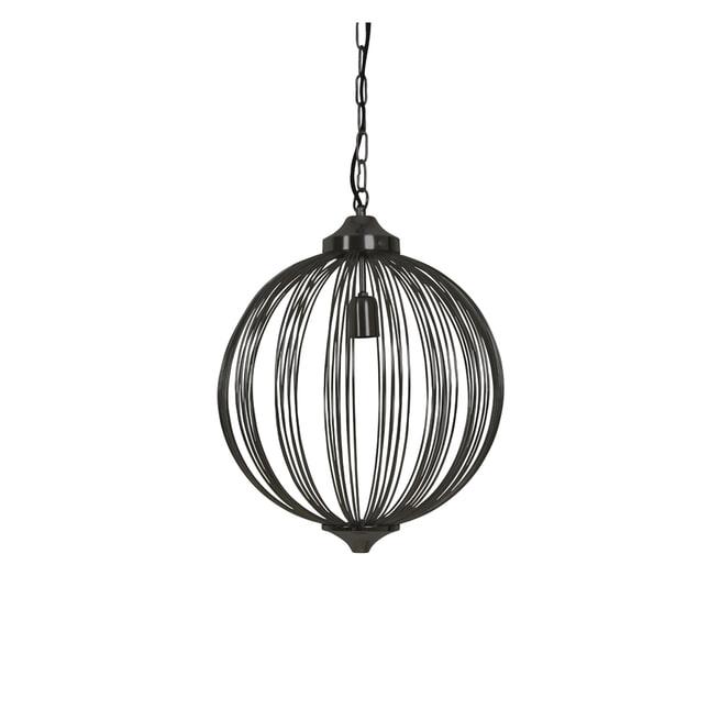 Light & Living Hanglamp 'Mala' 40cm, mat zwart